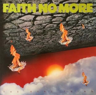 Faith No More ‎- The Real Thing (LP) (VG/VG+)